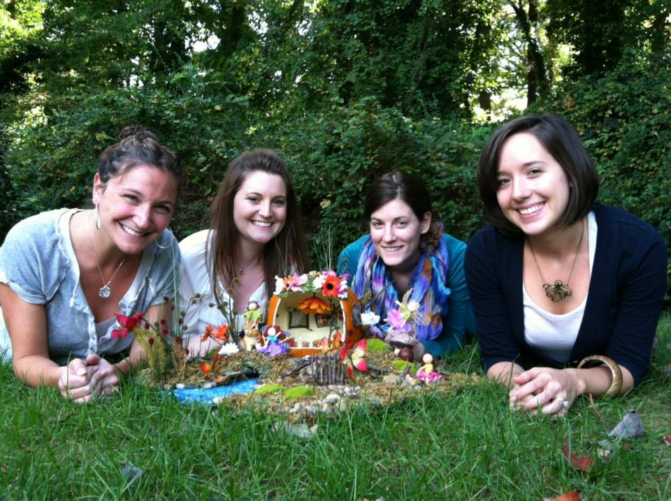 Designers Megan Hagood, Kendal Rogers, Soleil Smith & Ginger Willis & the Final Fairy Pumpkin Land