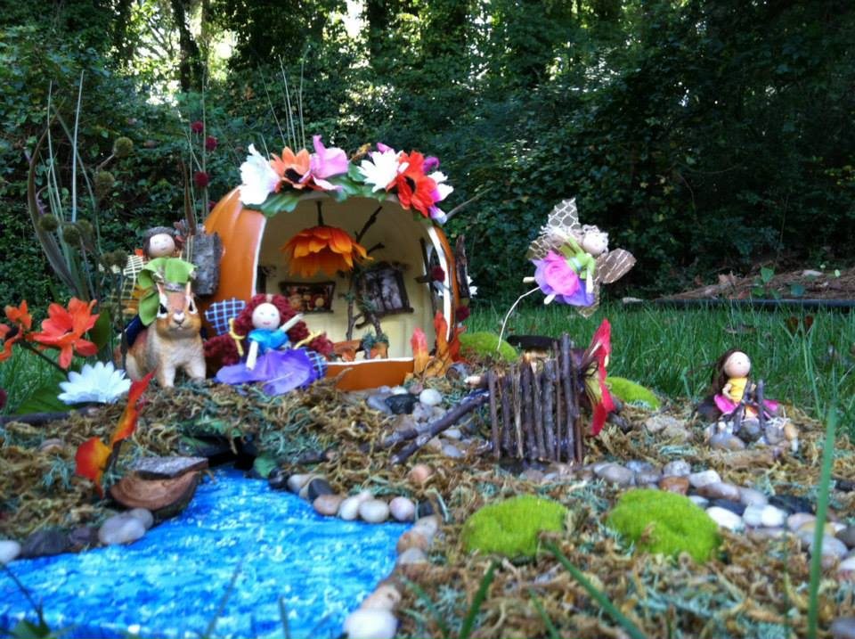 Our Fairy Pumpkin Land!