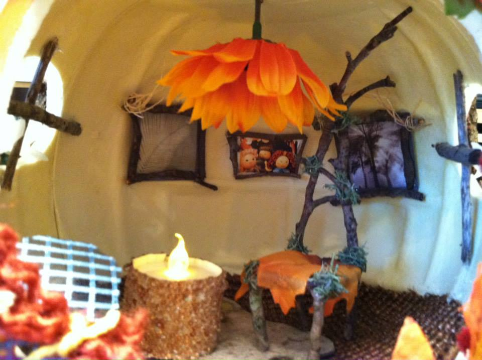 Close up of Fairy Pumpkin Land!