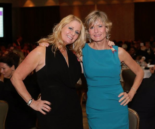 Libby Patrick & Her Sister Sheri Hofherr at the Night of Hope ALS Gala