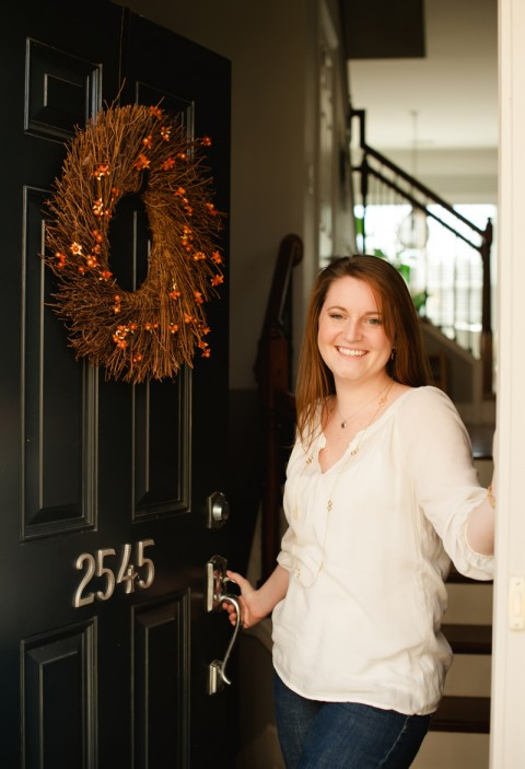 Sims Patrick Studio Designer Kendal Rogers at her Townhome in Smyrna, GA