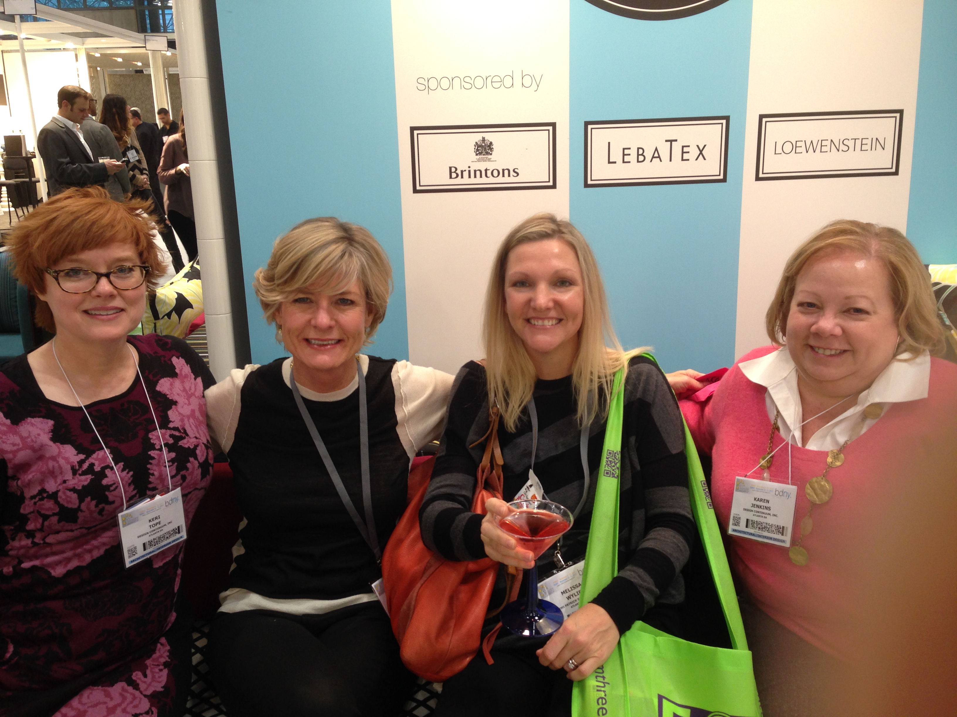 Libby, Melissa, & Friends at BDNY 2014