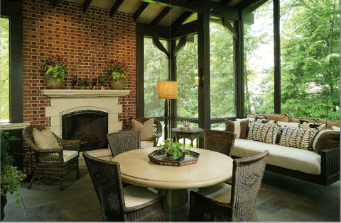 3 Outdoor fireplace